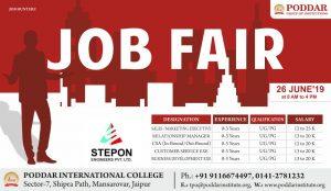Job Fair Stepon