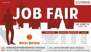 Job Fair Royal Enfield