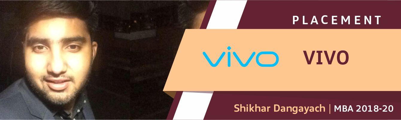 Shikhar Dangayach Vivo SLIDER